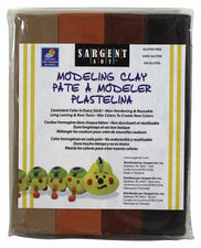 Sargent Art Modeling Clay, Earth Tone Colors