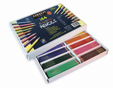 144 Count Sargent Colored Pencil Best Buy Assortment 8 Colors 18 Of Each