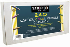 240 Count Sargent Watercolor Pencil Best Buy Assortment 7In