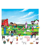 Farm Set 6 Inch Figures With Unmounted Background