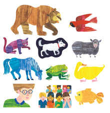 "Eric Carle ""Brown Bear, Brown Bear, What Do You See?"" Flannelboard Set"