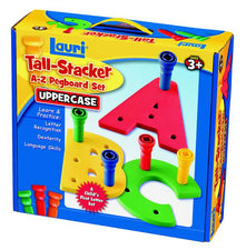 Tall-Stacker™ Pegs A-Z Pegboard™ Set (Uppercase)