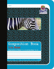 Composition Book, 1/2″ Ruled, 200 Pages