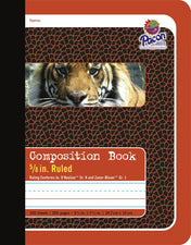 Composition Book, 5/8″ Ruled, 200 Pages