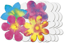Color Diffusing Flower 80Pk