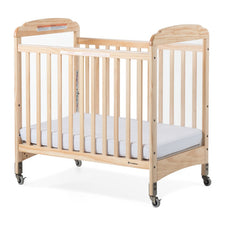 Next Gen Serenity® Compact Fixed-Side Crib, Clearview, Natural