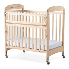 Next Gen Serenity® Compact SafeReach® Crib, Mirror, Natural
