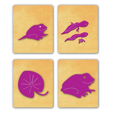 Ellison® SureCut Die Set - Frog Life Cycle, Large