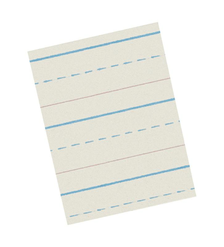 Writing Paper 50 Sheets 8.5 x 11 1/2 Inch Rule Short