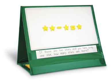 Write & Wipe Magnetic Demonstration Tabletop Pocket Chart