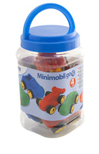 MiniMobile Go Vehicles, 4 Per Jar