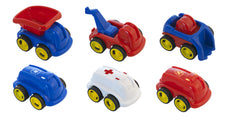 MiniMobile Job Vehicles, 6 Per Jar
