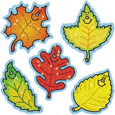Fall Leaves Dazzle Stickers Super Pack