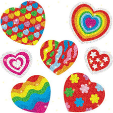 Hearts Dazzle Stickers Super Pack