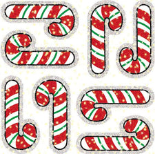 Candy Canes Dazzle Stickers Super Pack