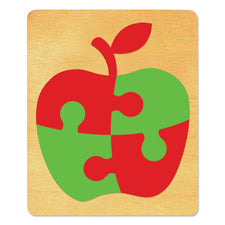 Ellison® SureCut Die - Puzzle (Apple), Large