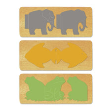 Ellison® SureCut™ Die Set - Animal Books, Double-Cut