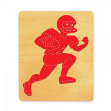 Ellison® SureCut™ Die - Football Player #2, Large