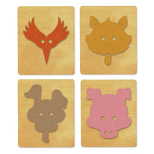 Ellison® SureCut™ Die Set - Masks #2 (4 Die Set)