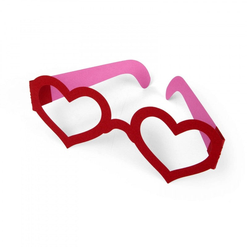 Ellison® SureCut™ Die - Glasses (Heart), Double-Cut