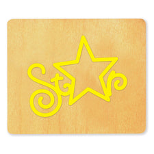 Ellison® SureCut™ Die - Word (Star), Large