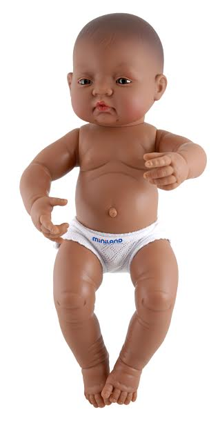 Hispanic Boy Anatomically Correct Newborn Doll