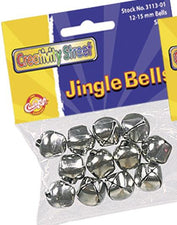 Silver Jingle Bells - 72 Pieces