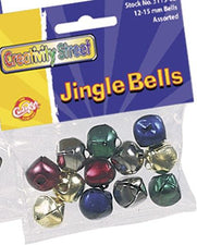 Multi-Color Jingle Bells - 72 Pieces