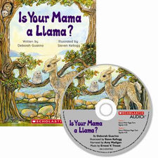 Is Your Mama a Llama? (Audiobook CD)