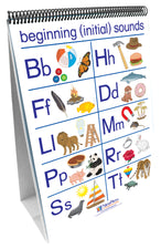 Curriculum Mastery® ELA Flip Chart Set - Early Childhood, Phonemic Awareness