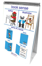 Curriculum Mastery® ELA Flip Chart Set - Early Childhood, Reading Readiness