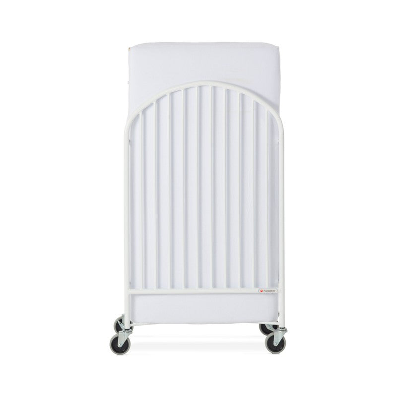 Pinnacle™ Full-Size Steel Folding Crib, White