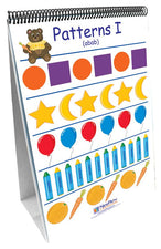 Patterns And Sorting 10 Double Sided Curriculum Mastery Flip Chart