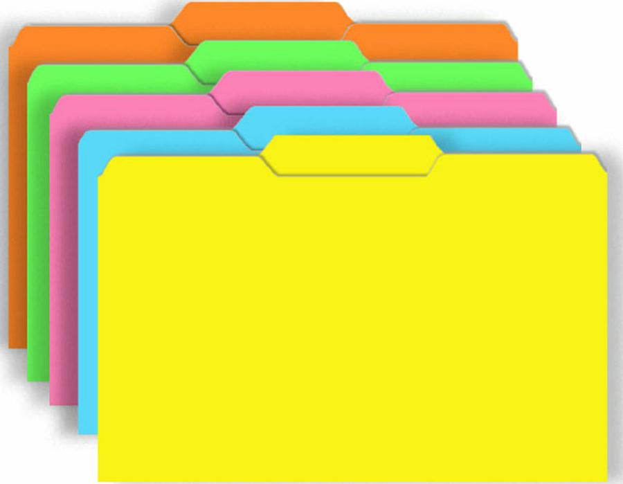 Game Folders Brite Colors