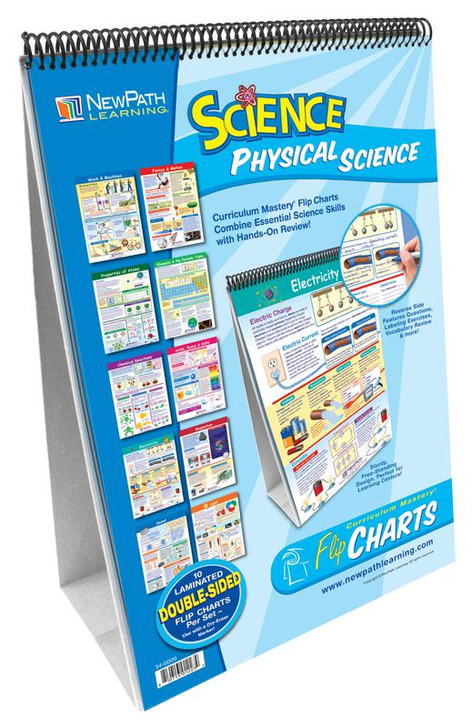 Middle School Physical Science Flip Chart Set