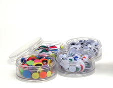 Wiggle Eyes - Stacking Storage Containers - 400 Eyes