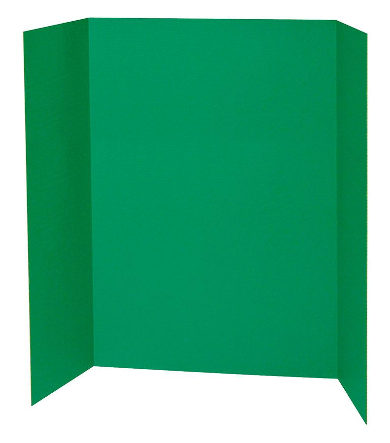 "Pacon® Presentation Boards, 48"" x 36"" Green"