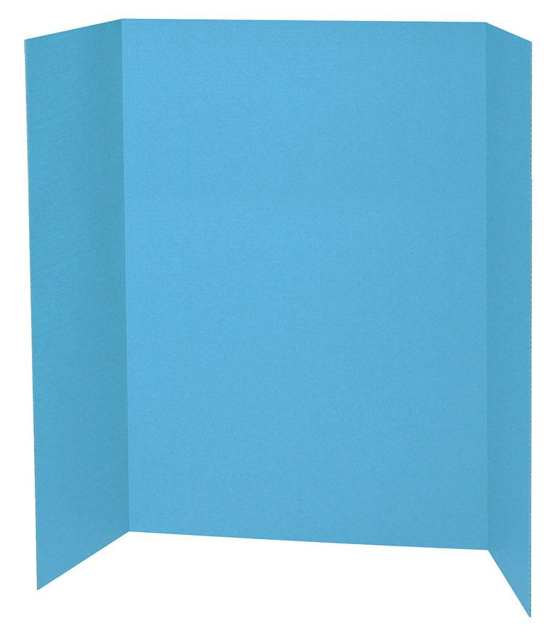 "Pacon® Presentation Board, 48"" x 36"" Sky Blue"