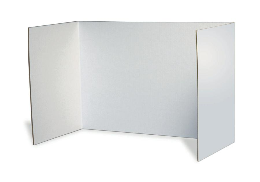 Privacy Boards, Set of 4, White