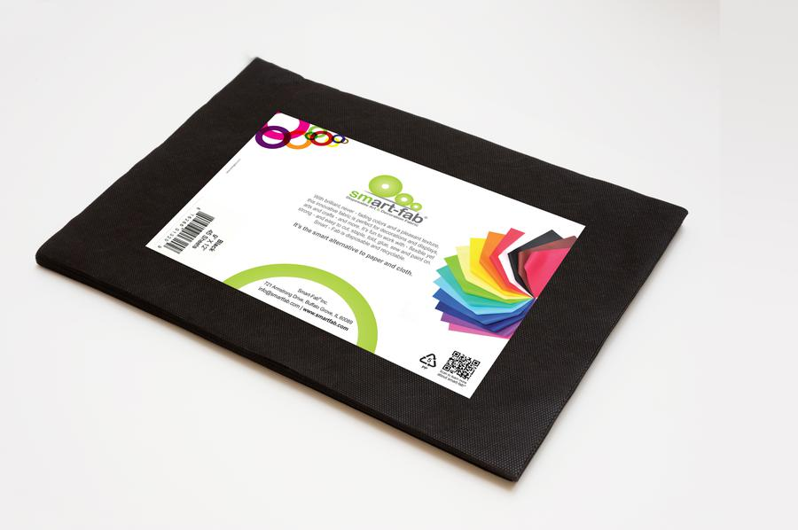 Smart Fab Cut Sheets 9 x 12 Black