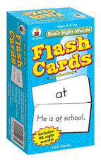 Basic Sight Words Flash Cards
