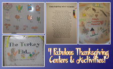 4 Fabulous Thanksgiving Centers & Activities!