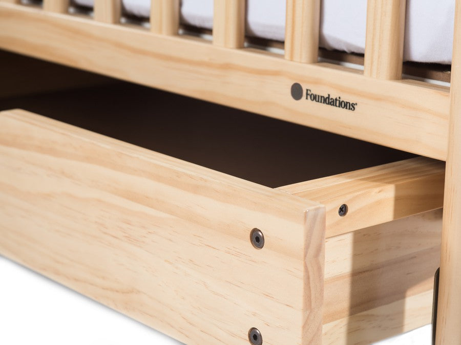 EZ Store™ Drawer with MagnaSafe Latch for Compact Next Gen Serenity® Cribs, Natural