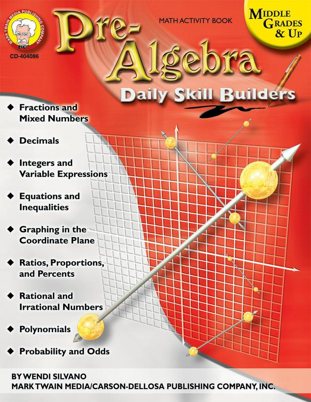 Pre-Algebra Resource Book, Gr 6+