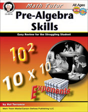 Math Tutor: Pre-Algebra Resource Book