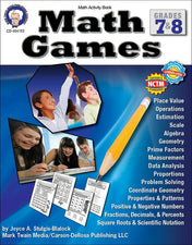 Math Games Resource Book, Gr 7-8