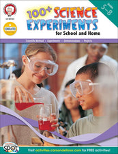 100+ Science Experiments for School and Home Resource Book
