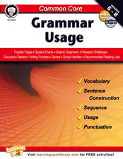 Common Core: Grammar Usage Resource Book