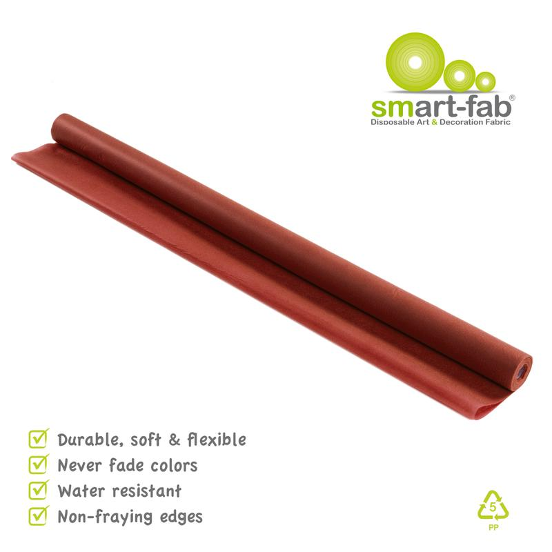 "Smart-Fab® Brown Fabric, 48"" x 40' Roll"