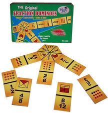 Fraction Dominoes Game